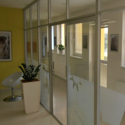 Glazed Walls and Interior Partitions